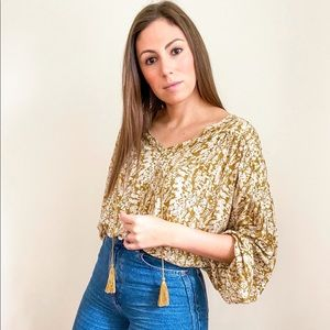 NWT Floral Summer Top